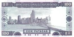 MACAU P.  68a 100 P 1992 UNC - Macao