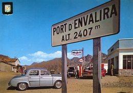 ANDORRE(PORT D ANVALIRA) POMPE A ESSENCE(AUTOMOBILE) - Andorre