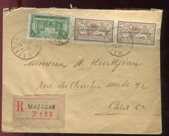 Maroc - Enveloppe En Recommandé De Mazagan En 1925 Pour Paris - Prix Fixe - Réf F76 - Morocco (1891-1956)