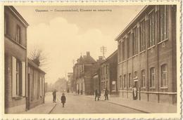 8Eb-173: OPPUERS - Gemeenteschool, Klooster En Omgeving - Andere