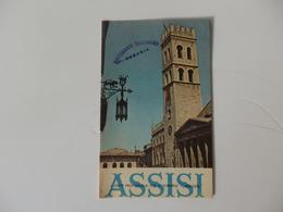 Depliant Sur Assisi Dans L'Ombrie En Italie. - Diploma & School Reports