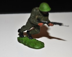 Rare Petit Soldat Anglais Marque Britains... - Militaires