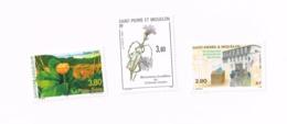 La Plta-bière,Droit De Vote Des Femmes,Insecte.MNH,Neuf Sans Charnière,Falzlos.Yvert 575,597,688 - St.Pierre Et Miquelon