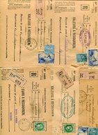MAYENNE De LAVAL  5  Devant Env. Recommandée De 1939 - Marcophilie (Lettres)