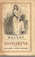 BALZAC - HONORINE - ALBIN MICHEL - 1955 - Libros, Revistas, Cómics