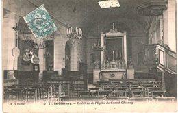 LE CHESNAY .... INTERIEUR DE L EGLISE - Le Chesnay