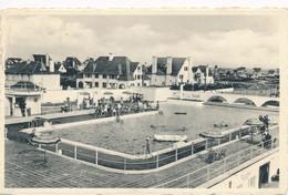 CPA - Belgique -  Flandre Occidentale - Westende - Lac Aux Dames - Westende