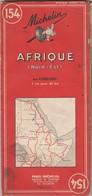 Carte Routière N° 154 Sur L'AFRIQUE ( Nord-Est ) - Carte Stradali
