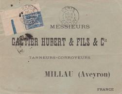 15c Sage Cdf S / Env T.P.  Ob Paris Départ 16 Nov 94 - Postmark Collection (Covers)
