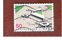 GIAPPONE  (JAPAN) - SG 1495   -   1978  OPENING NARITA ARPORT - USED° - 1926-89 Imperatore Hirohito (Periodo Showa)