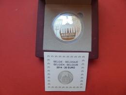 """BELGIQUE 20 EURO 2014 """"BERLIN""""  ARGENT QUALITE """"PROOF"""" - Belgique"""