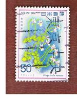 GIAPPONE  (JAPAN) - SG 1497   -   1978  FLOWERS: PINGUICULA RAMOSA - USED° - 1926-89 Imperatore Hirohito (Periodo Showa)