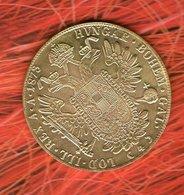 """605 --  1873 AUSTRIA HUNGARY DUCAT Dukat """" Gold """" Coin Restrike - Autriche"""