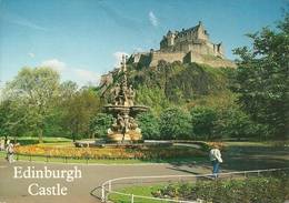 Edinburgh (Scozia) The Castle, Le Chateau, Der Schloss, Il Castello - Scozia