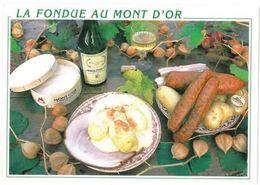 CP Recette De La Fondue Au Mont D'Or - Küchenrezepte