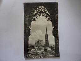 "Cartolina Viaggiata ""WIEN Stephansdom"" 1959 - Chiese"