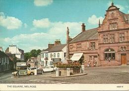 Melrose (Roxburghshire, Scozia) The Market Square - Roxburghshire