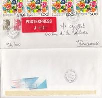 COVER. LETTRE.   FRANCE POSTEXPRESS - Briefmarken