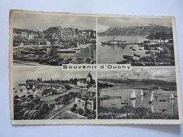 """Cartolina Viaggiata """"Souvenir D'Ouchy""""  1950 - VD Vaud"""