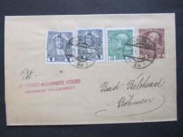GANZSACHE Zeitungsstreifband Wien - Lazne Belohrad 1914 ///  D*36726 - 1850-1918 Empire