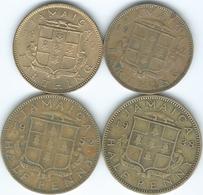 Jamaica - George VI  - 1937 ¼ Penny / Farthing - 1942 (KM42) & 1950 (KM33); ½ Penny - 1938 (KM31) & 1952 (KM34) - Jamaique