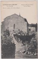 55 La Grande Guerre 1914-1915  Koeur La Grande Vue De L'eglise - Other Municipalities