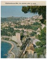 1963 - Iconographie - Villefranche-sur-Mer (Alpes-Maritimes) - La Gare - FRANCO DE PORT - Vieux Papiers