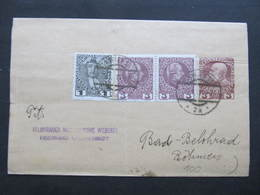 GANZSACHE Zeitungsstreifband Wien - Lazne Belohrad 1914 ///  D*36727 - 1850-1918 Imperium