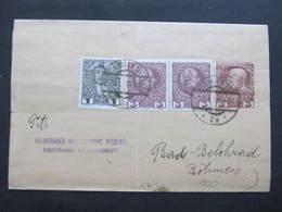 GANZSACHE Zeitungsstreifband Wien - Lazne Belohrad 1914 ///  D*36727 - 1850-1918 Empire