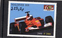 Ferrari F2001  (2001)  -  Maldives 1v MNH/Neuf/Mint - Automovilismo