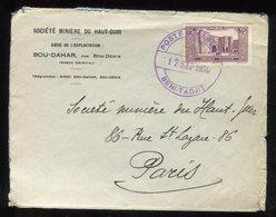 """Maroc - Oblitération """" Poste Aux Arméées Beni-Tadjit"""" En Violet Sur Enveloppe En 1930 Pour Paris - Prix Fixe - Réf F94 - Lettres & Documents"""