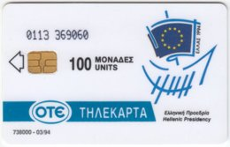 GREECE C-691 Chip OTE - Used - Greece