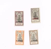 Surchargés. MN,Neuf Charnière,Mit Falz.Yvert 59/62 - Inde (1892-1954)