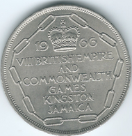 Jamaica - Elizabeth II - 5 Shillings - 1966 Commonwealth Games - KM40 - Jamaique