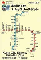 Kyoto - One Day Card Used / 24h Carte Usée - Subway - 2018 - Metropolitana