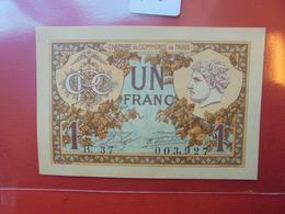 PARIS CHAMBRE DE COMMERCE 1 FRANC 1920 NEUF ! - Chambre De Commerce