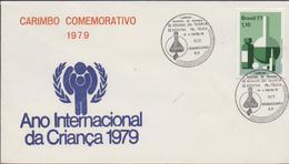 3378   Carta   Araraquara  1979, Unesp, Quimica,  Año Internacional De Los Niños, - Brasile