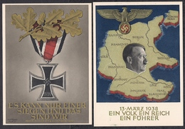 Deutsches Reich  4 Propagandakarten - Deutschland