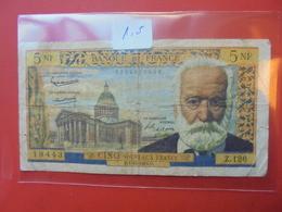 FRANCE 5 FRANCS 1964 CIRCULER - 1959-1966 Nouveaux Francs