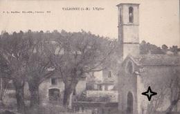 VALBONNE (près De Mougins). L'EGLISE - (vers 1900). - Autres Communes