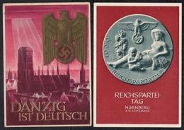 Deutsches Reich  2 Propagandakarten - Deutschland