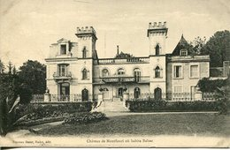 006261  Avressieux - Château De Montfleuri Où Habita Balzac - Other Municipalities