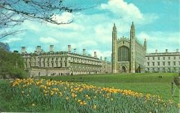 Cambridge (Cambridgeshire) Clare College And King's College Chapel - Cambridge