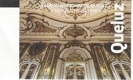 Portugal - Queluz National Palace - Palais National - Used Ticket 2017 - Tickets D'entrée
