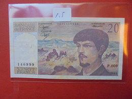 FRANCE 20 FRANCS 1982 CIRCULER - 1962-1997 ''Francs''