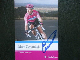 Cyclisme Photo Signee Cavendish - Radsport