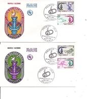 Sports - 11 Jeux Du Pacifique Sud ( 2 FDC De Nouvelle-Calédonie De 1966 à Voir) - Stamps
