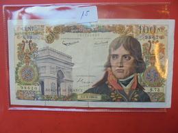FRANCE 100 FRANCS 1960  CIRCULER (LEGERES BRISURES BORD INFERIEUR !) - 1959-1966 Nouveaux Francs