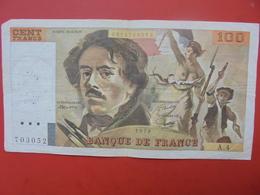 FRANCE 100 FRANCS 1978 ALPHABET A.4 CIRCULER - 1962-1997 ''Francs''