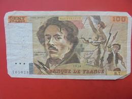 FRANCE 100 FRANCS 1978 ALPHABET B.7 CIRCULER - 1962-1997 ''Francs''